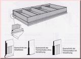Doppelmaulschlüssel Satz Elora 1/4x5/16-1 1/16x1 1/4 AF