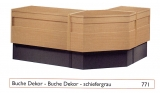 Schlosserhammer mit 3-Komponetenstiel 500 g