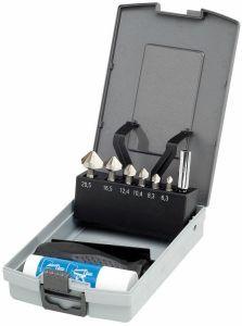 HSS Kegelsenker 90 KEILBIT, Kunststoffkassette 9-tlg.