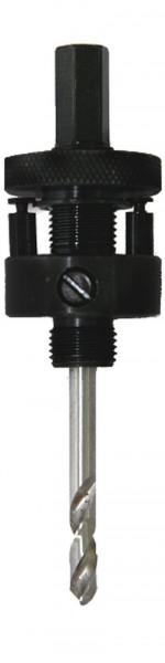 Aufnahme f. Lochsäge, Durchmesser 14 - 30 mm
